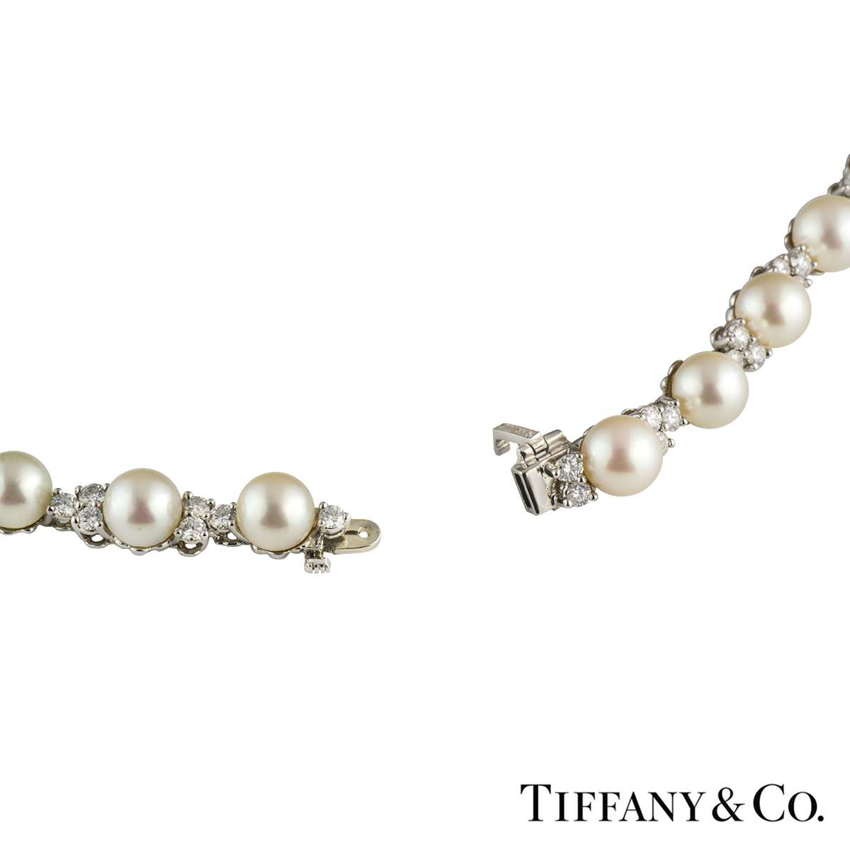platinum diamond diamonds in tiffany co and a pear neck drop necklace with shaped
